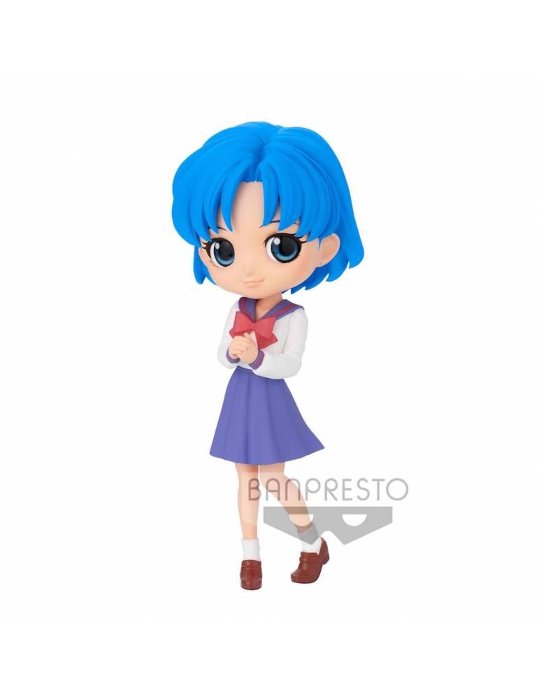 Figura Pretty Guardian Sailor Moon Eternal Q Posket: Ami Mizuno Ver. B 14 cm