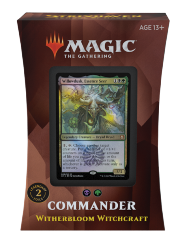 Magic the Gathering Strixhaven: School of Mages Mazos de Commander - Witherbloom Witchcraft