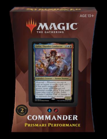 Magic the Gathering Strixhaven: School of Mages Mazos de Commander - Prismari Performance