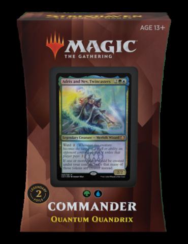 Magic the Gathering Strixhaven: School of Mages Mazos de Commander - Quantum Quandrix