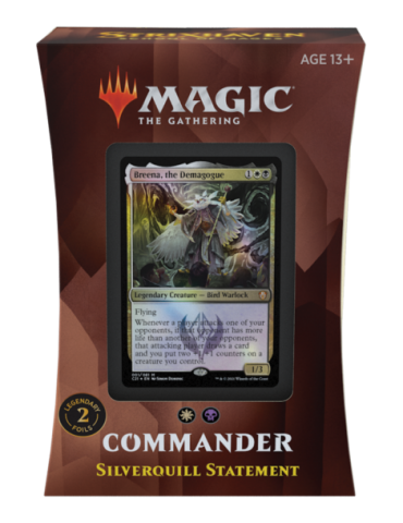 Magic the Gathering Strixhaven: School of Mages Mazos de Commander - Silverquill Statement