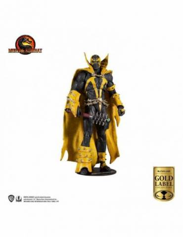 Figura Mortal Kombat: Spawn (Curse of Apocalypse) (Gold Label Series) 18 cm
