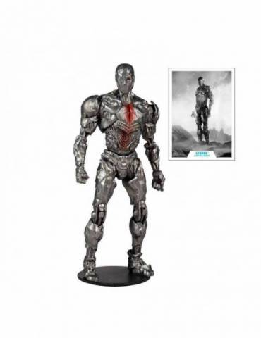 Figura DC Justice League Movie: Cyborg (Helmet) 18 cm