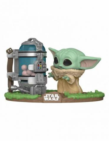 Figura POP Star Wars The Mandalorian Deluxe: The Child Egg Canister 9 cm