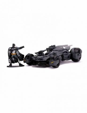 Réplica Vehículo Justice League: 1/32 Hollywood Rides Batmobile