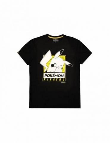 Camiseta Pokémon: Embarrassed Pika