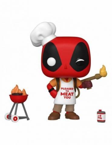 Figura POP Marvel Deadpool 30th Anniversary: Backyard Griller Deadpool 9 cm