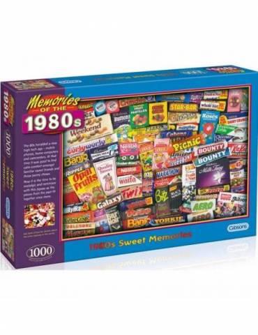 Puzles de 1000 piezas Dulces Memorias de los años 80