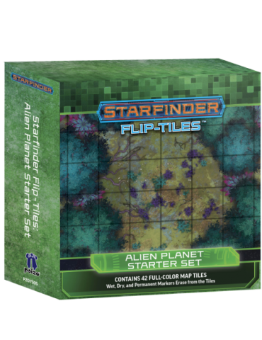 Starfinder Alien Planet Starter Set Flip
