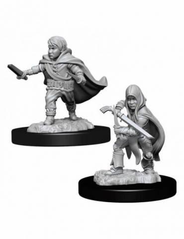 D&D Nolzur's Marvelous Miniatures: Halfling Rogue Male