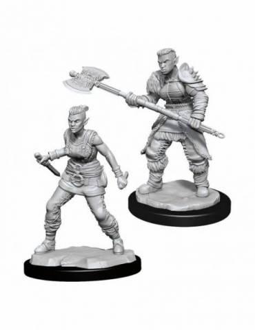 D&D Nolzur's Marvelous Miniatures: Orc Barbarian Female