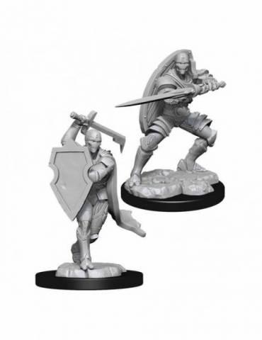 D&D Nolzur's Marvelous Miniatures: Warforged Fighter Male