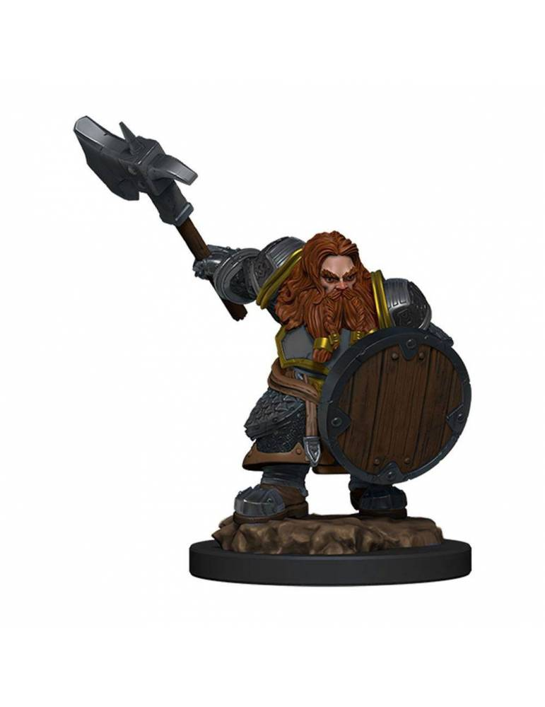 D&D Icons of the Realms: Dwarf Fighter Male