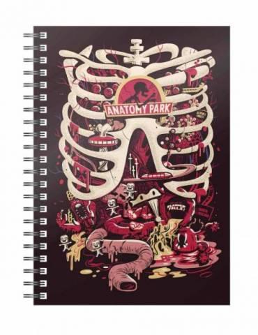 Libreta Espiral Rick y Morty: Anatomy Park
