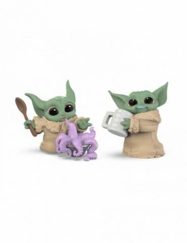 Pack de 2 Figuras Star Wars Mandalorian Bounty Collection: The Child Tentacle Soup & Milk Mustache