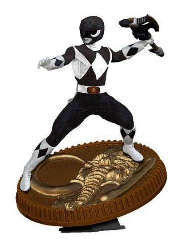 Figura Mighty Morphin Power Rangers: Black Ranger 23 cm