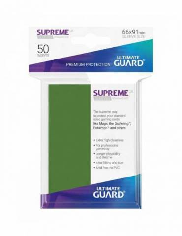 Fundas Ultimate Guard Supreme UX (50 Uds) Color Verde