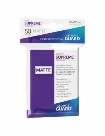 Fundas Ultimate Guard Supreme UX (50 Uds) Mate Color Violeta