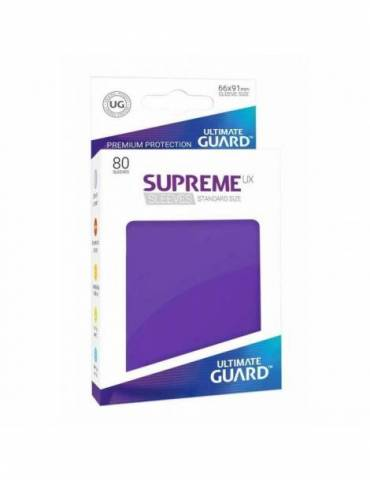 Fundas Ultimate Guard Supreme UX Color Violeta (80 unidades)