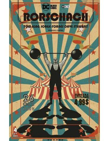 Rorschach núm. 04 de 12