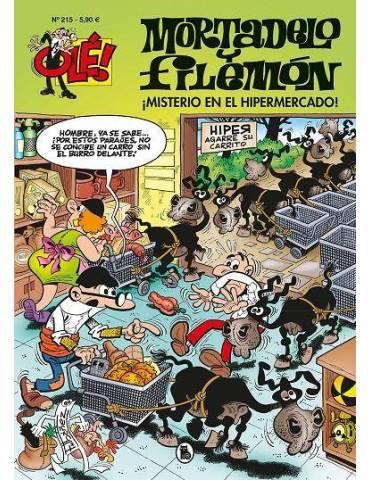 Ole Mortadelo 215. ¡Misterio en el Hipermercado!