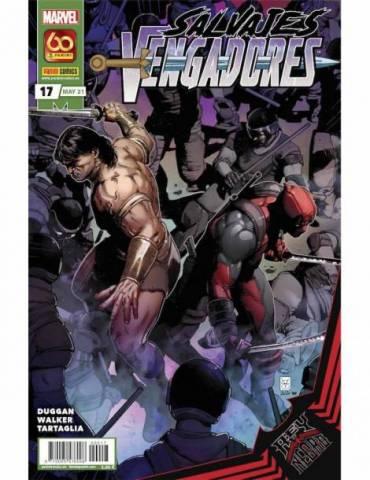 Salvajes Vengadores 17