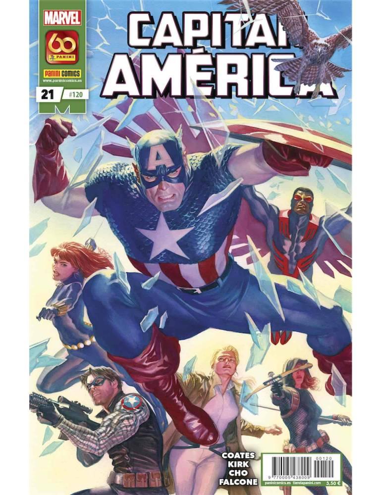 Capitán América 21 (120)