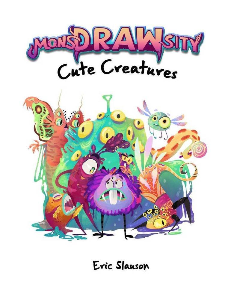 MonsDRAWsity: Cute Creatures
