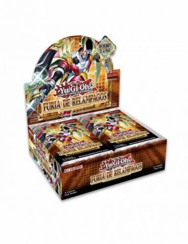 Yu-Gi-Oh! Furia de Relámpagos: Caja de 24 sobres