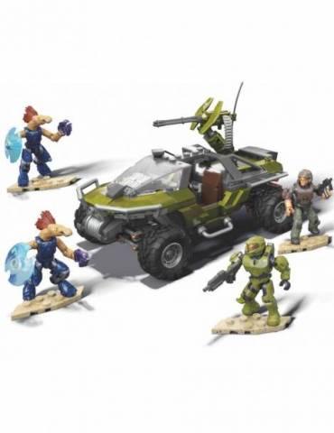 Kit de Construcción Mega Construx Halo: Warthog Rally (315 Pcs)
