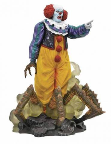 Figura It 1990 Gallery: Pennywise 23 cm