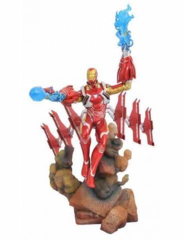 Figura Diorama Marvel Movie Gallery: Iron Man MK50 23 cm