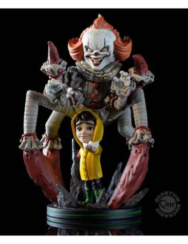 Figura Q-Fig Max Elite It 2017: Pennywise We All Float 19 cm
