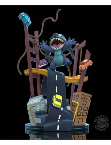 Figura Q-Fig Max Elite Lilo & Stitch: Stitch x San Francisco 13 cm