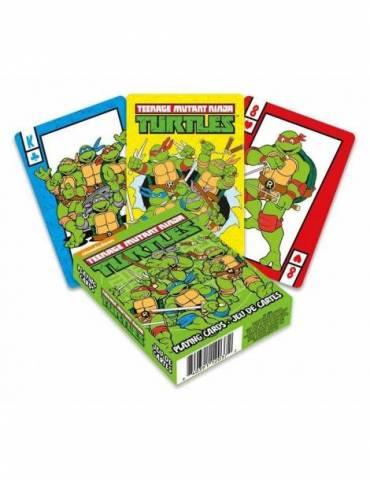 Baraja Tortugas Ninja: Cartoon