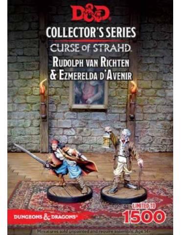 Dungeons & Dragons Curse of Strahd: Ezmerelda D'Avenir & Rudolph Van Richten (2 figs)