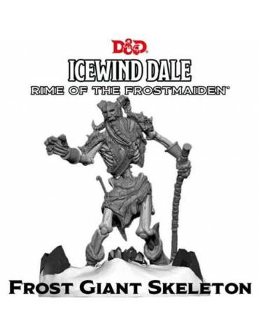 Dungeons & Dragons Icewind Dale: Rime of the Frostmaiden - Frost Giant Skeleton (1 fig)