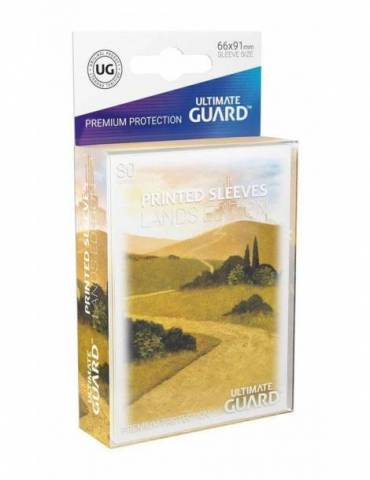 Fundas Ultimate Guard Lands Edition I: Llanura (80 unidades)