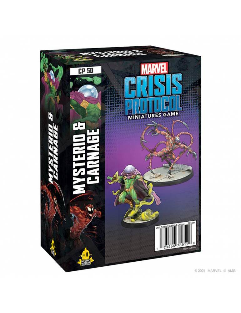 Crisis Protocol Carnage & Mysterio EN
