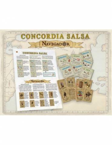 Navegador y Concordia Salsa Expansion Exclusiva