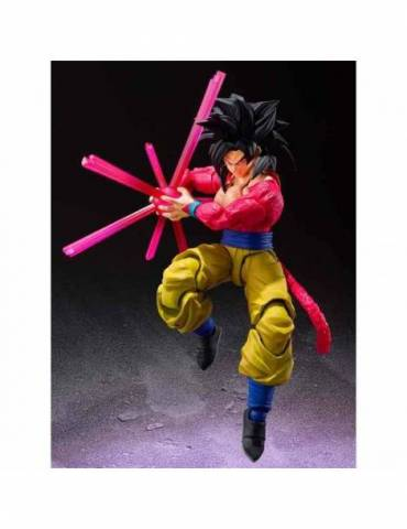 Figura Dragon Ball GT SH Figuarts: Super Saiyan 4 Son Goku 15 cm
