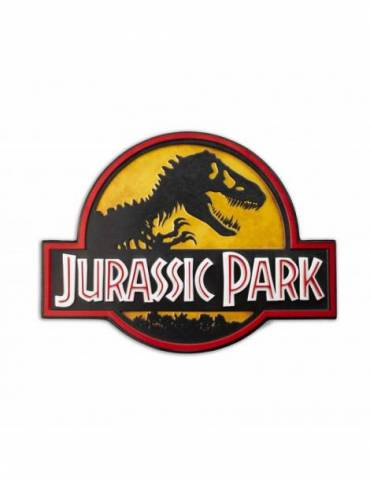 Cartel Metalico Jurassic Park: Logo