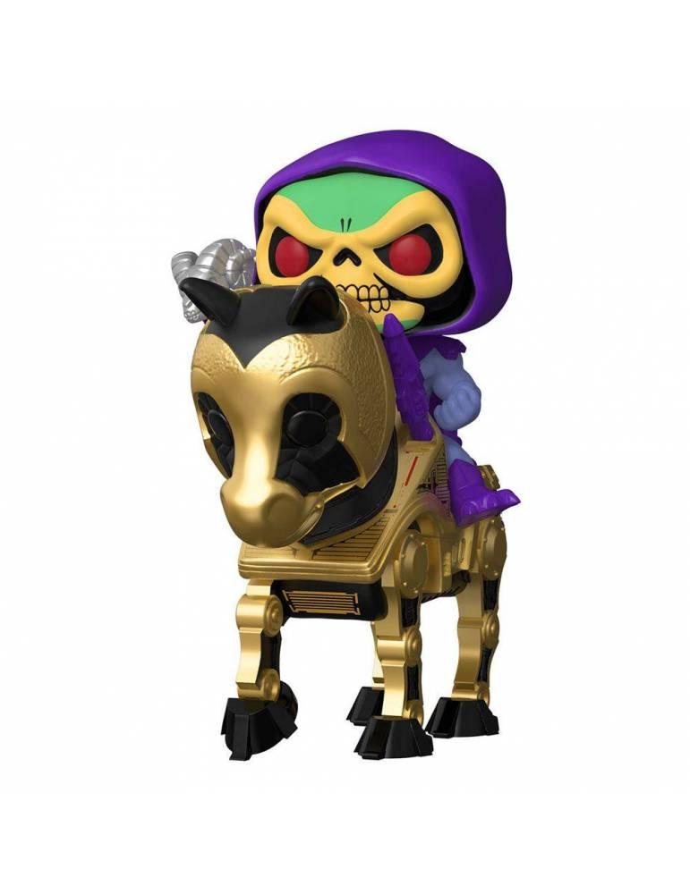 Figura POP Masters of the Universe Rides: Skeletor w/Night Stalker 18 cm