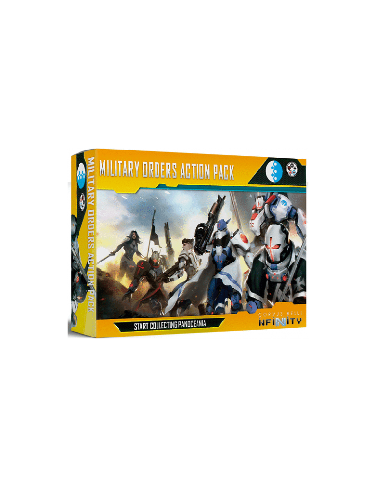 Infinity: Military Orders Action Pack