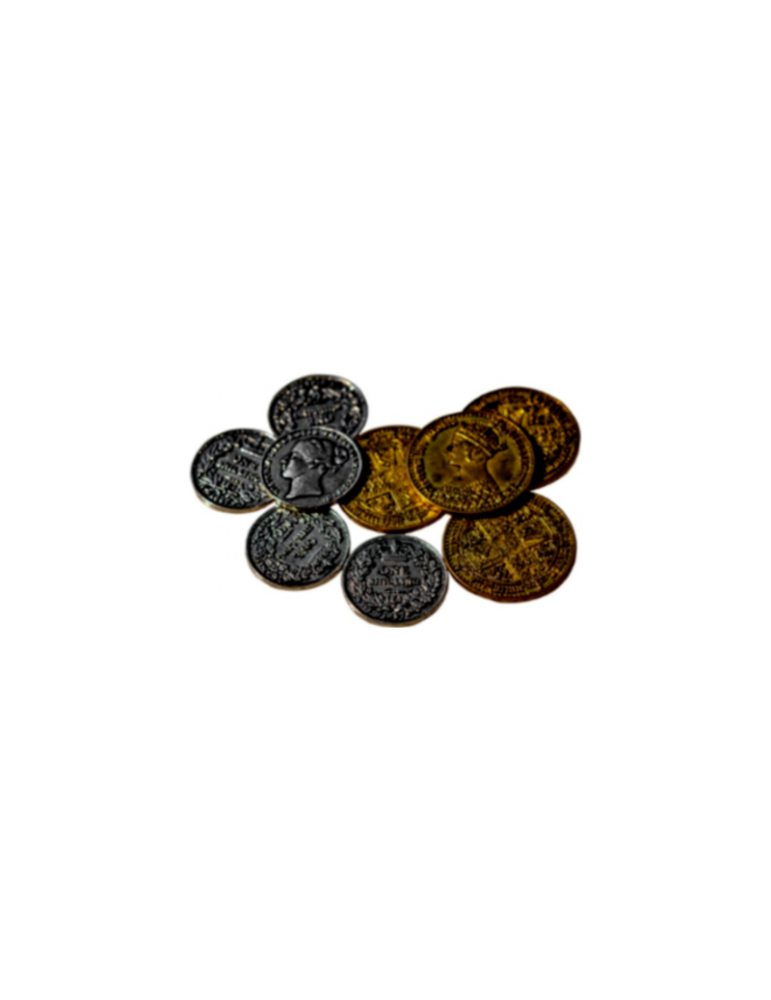 Nanty Narking: Monedas de Metal Estilo Victoriano