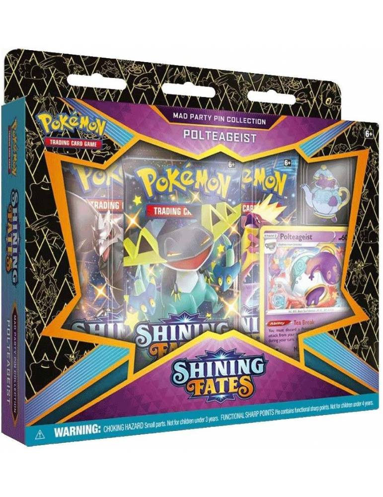 Pokémon TCG: Shining Fates Mad Party Pin Collection - Polteageist