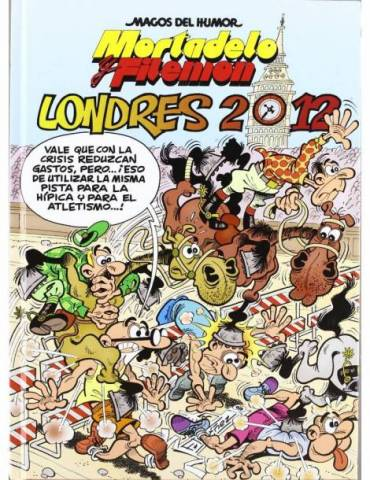 Magos Humor 151. Londres 2012 (Mortadelo y Filemón)
