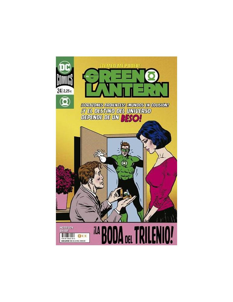 El Green Lantern núm. 106/ 24