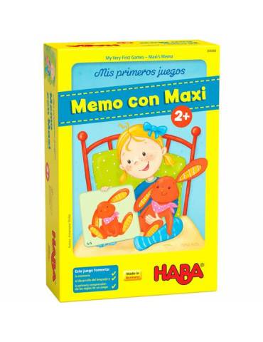 Mis primeros juegos - Memo con Maxi