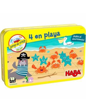 4 en playa